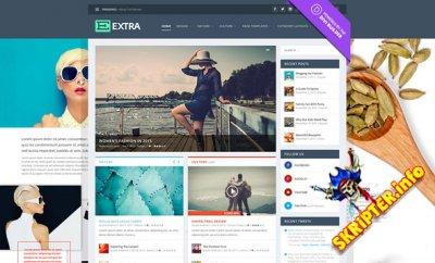 Extra v2.1.1 Rus - новостной шаблон для WordPress