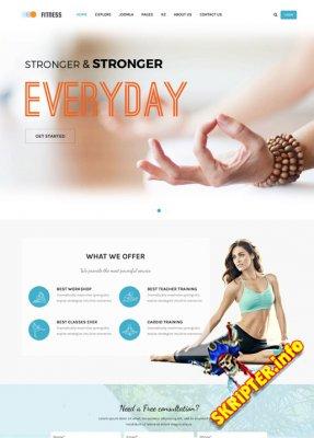 SJ Fitness v1.0.0 - шаблон фитнес центра для Joomla