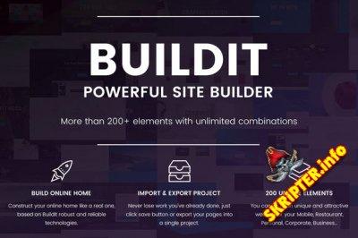 BuildIt v1.0 - конструктор сайтов