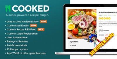 Cooked v2.3.10 - плагин кулинарных рецептов для WordPress