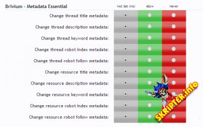 Brivium - Metadata Essential v1.8.2 Rus - плагин для SEO форума XenForo
