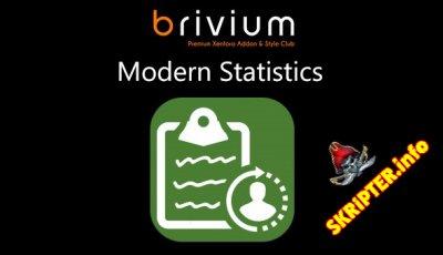 Modern Statistics v2.6.0 - плагин статистики для XenForo