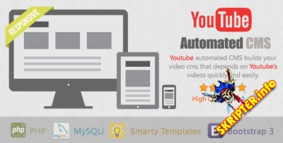 YouTube Automated  CMS v1.0.7
