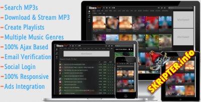 MP3 Finder v1.0 - скрипт музыкальной поисковой системы