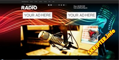 Streamo v1.0 – Online Radio And Tv Streaming CMS