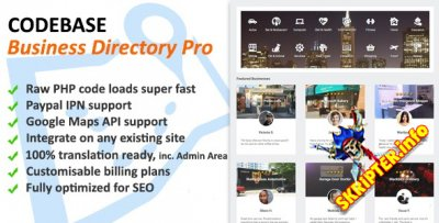 Codebase Business Directory Pro v1.02 - скрипт бизнес каталога