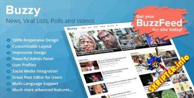 Buzzy v1.4 + All plugins - скрипт новостного портала