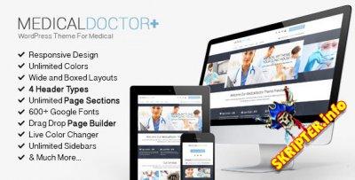 MedicalDoctor v3.3 - медицинский шаблон для WordPress