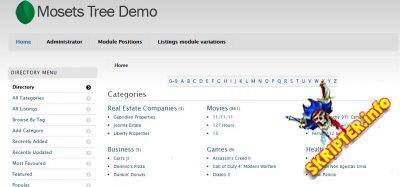 Mosets Tree v3.9.5 - бизнес-каталог для Joomla