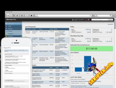 aMember Pro v5.1.3 Nulled Rus - управление закрытой частью сайта