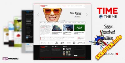 Time v4.5.2 - многоцелевой шаблон для WordPress