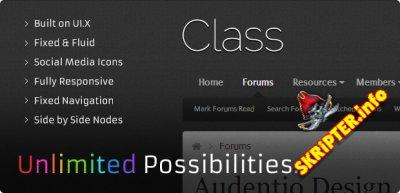 Class 1.5.6.0 - светлый стиль для XenForo