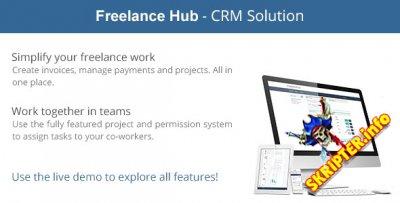 FreelanceHub v1.0 - менеджер freelance проектов
