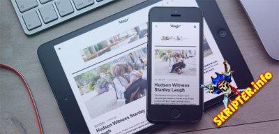JA Magz II v1.0.1 - новостной шаблон для Joomla