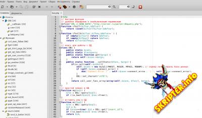 Быстрый набор функций php и набор для создания резервной копии бд mysql