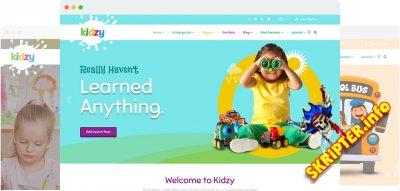 JS Kidzy v1.2 – детский шаблон для Joomla