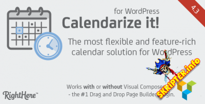 Calendarize it! v4.3.1.73711 - календарь событий для WordPress
