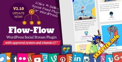 Flow-Flow v2.10.3 - граббер контента из социальных сетей для WordPress