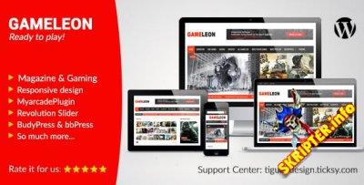 Gameleon v5.4 - игровой шаблон для WordPress