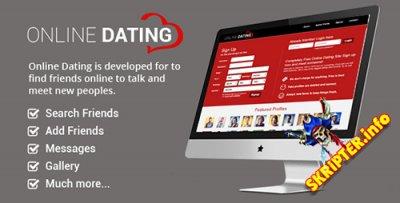 Online Dating v2.0 - скриптом сайта знакомств
