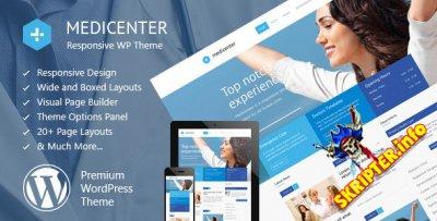 MediCenter v9.9 Rus - медицинский шаблон для WordPress