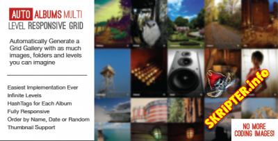 Auto Photo Albums - многоуровневая фотогалерея