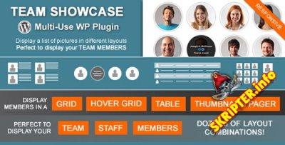 Team Showcase v1.8.4 - плагин отображения членов команды для Wordpress
