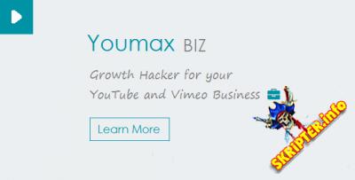 Youmax v2.0 - видео с YouTube и Vimeo на сайте