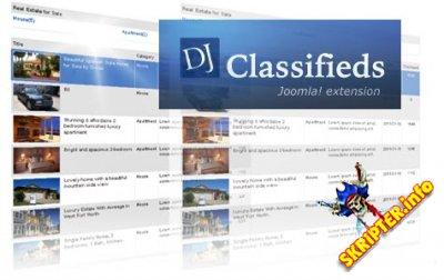 DJ-Classifieds v3.6.1 Rus - доска обьявлений для Joomla