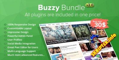 Buzzy Bundle v2.0 Rus - скрипт новостного портала