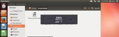 Уязвимость старой Ubuntu через аудиофайл, проигрываемый эмуляцией процессора 1975 года