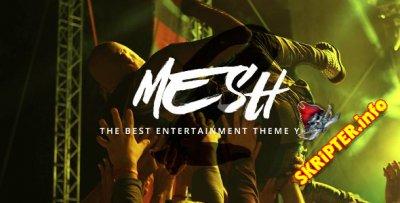 MESH v2.1.0 - музыкальный шаблон для WordPress