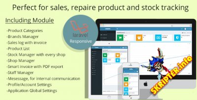 Multistore sales and repair tracking system v1.0