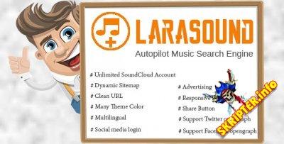 LaraSound v1.0 - музыкальная поисковая система