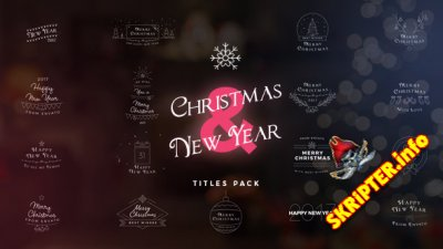 Christmas & New Year Titles - Project for After Effects (Videohive)