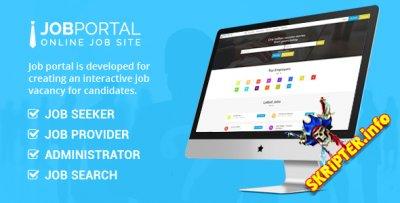 Job Portal v3.1 - скрипт доски объявлений