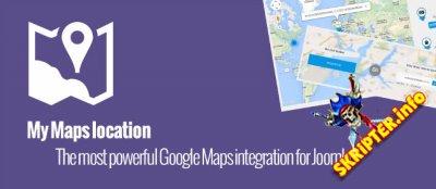 My Maps location v3.2.0 - компонент отображения на картах для Joomla