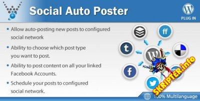 Social Auto Poster v2.4.4 - мощный плагин кросспостинга для WordPress