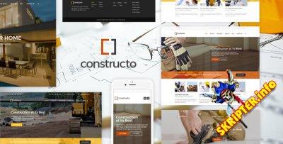 Constructo v3.2.9 - бизнес шаблон для WordPress