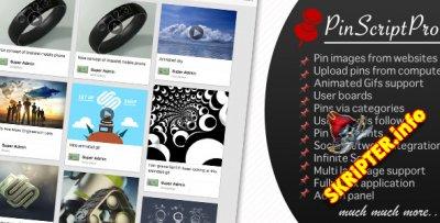 PinScript Pro v1.0 - скрипт социального сервиса