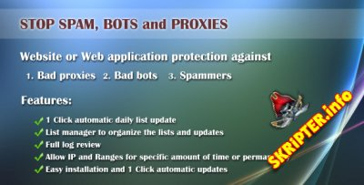 Bad proxy and bot ban