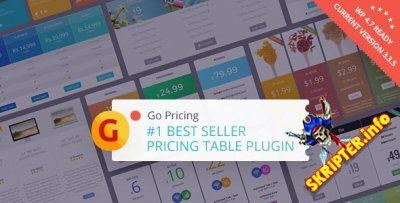 Go Pricing v3.3.5 - таблицы цен для WordPress