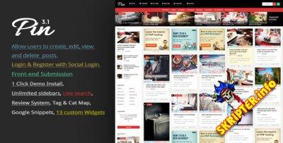 Pin v3.1 - Pinterest стиль для WordPress