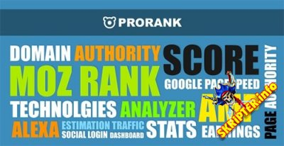 ProRank v1.0.5 - скрипт анализа сайтов