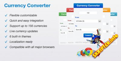 Currency Converter v1.8 Rus - конвертер валют