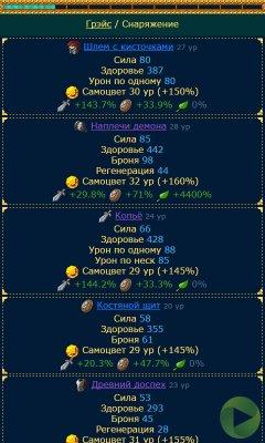 Скрипт браузерной игры Защитники Маггарда