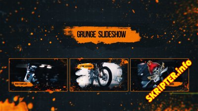 Grunge Slideshow - Project for After Effects (Videohive)