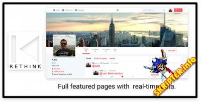 Rethink v1.3 - скрипт социальной сети