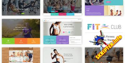 Fitness Club v1.0.3 - спортивный шаблон для WordPres