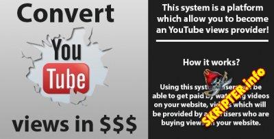 PaidVids v1.0.3 - скрипт продажи просмотров на YouTube